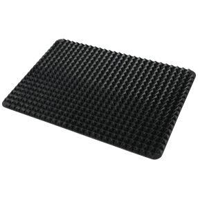Diät Silikon Backmatte, schwarz