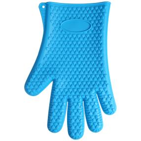 """Silikon Wounder"" Handschuh blau"