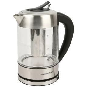Glas-Wasserkocher + Teesieb