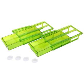 Kühlschrank-Schubfächer XL 2er Set