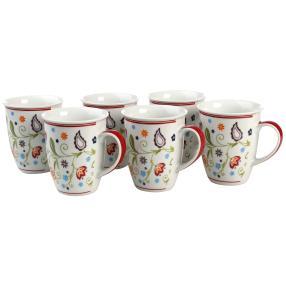 Kaffeebecherset 6-teilig