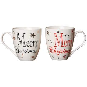 Jumbo Tassenset Weihnachten