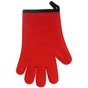 Silikon Wounder Handschuh rot, gefüttert