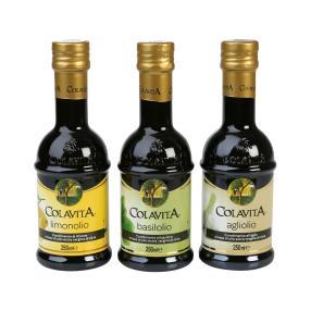 Aromatisiertes Olivenöl 3er Set