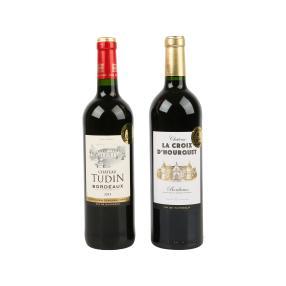 Bordeaux Weine 2er Set