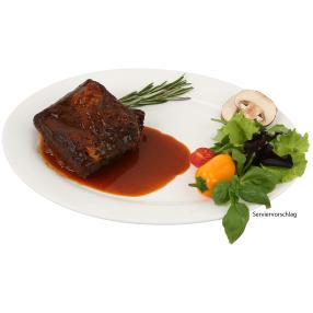Smoked Rinderbrust in Honey BBQ