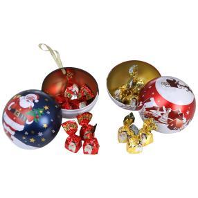 Weihnachtskugel-Set gefüllt