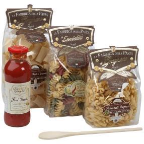 Italienisches Pasta Set III - Sacco Scorta Vacanze