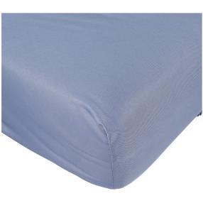 AllSeasons Spannbettlaken blau, 1x 140x200cm
