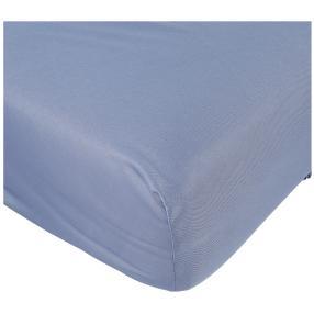AllSeasons Spannbettlaken blau, 180 x 200 cm