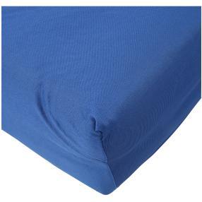 AllSeasons Spannbettlaken, blau, 180 x 200 cm