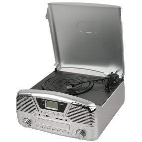 Retro-Stereoanlage 4in1 inkl. Fernbedienung