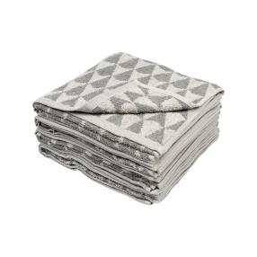 Handtuch-Set Dreiecke 4-teilige