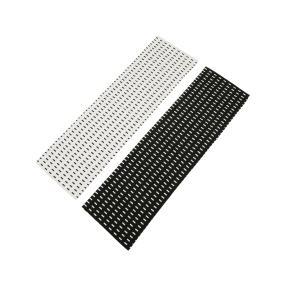 Tischläufer 2er Set schwarz & weiß, 40 x 140 cm