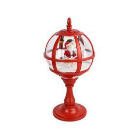 Tischlaterne Santa, rot, 65cm