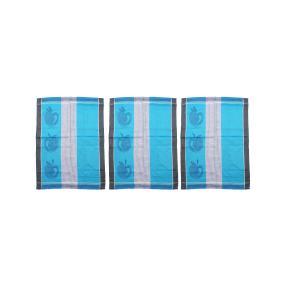 Halbleinen-Geschirrtuch 50 x 70 cm, 3-teilig