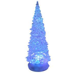LED Glitzerbaum mit Farbwechsel