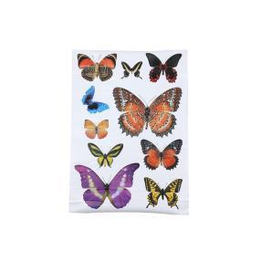 Wandsticker Schmetterlinge 10-teilig, bunt