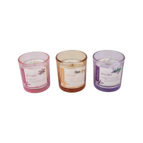 Duftkerzen Lavendel,Mandarine/Vanille & Lotusblüte