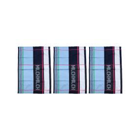 Geschirrtücher Blau-Rot-Grün, 50 x 70 cm, 3er-Set