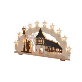 3D-Lichterbogen Altstadtromantik, 66 x 42 x 6 cm