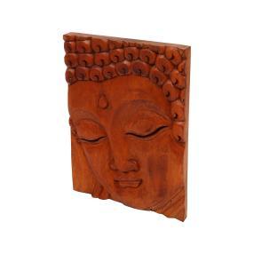Buddha-Bild aus Suarholz