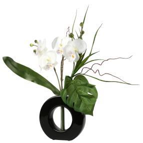 Orchideenstrauß in der Vase