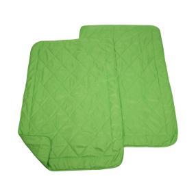 Sommerbettdecke Grün, 135 x 200 cm, 2er-Set