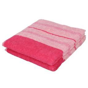 Superflausch Duschtuch, Pink, 2er-Set