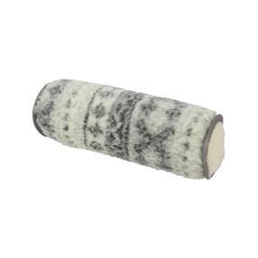 Lammflor Nackenrolle, grau