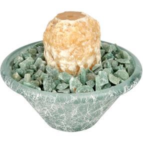 Darimana Mini Brunnen Aragonit, 26 cm