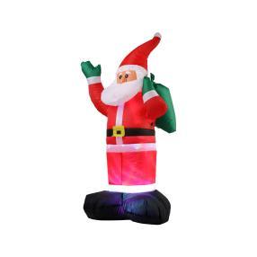 Selbstaufblasbarer Weihnachtsmann, ca.120 cm