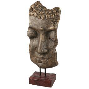Darimana Buddhamaske golden, 70 cm
