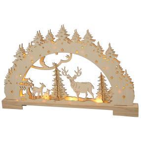 3D-Lichterbogen Wald, 54 x 4,5 x 33,5 cm
