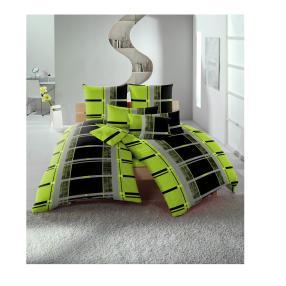 AllSeasons Bettwäsche, grün-schwarz Karo 10-teilig