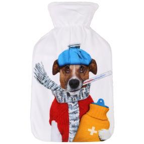 Wärmflasche Hund, 0,8 l