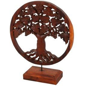 Darimana Lebensbaum auf Sockel, 40 cm
