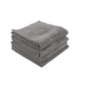 GÖZZE Handtuch anthrazit, 50 x 100 cm, 4er Set