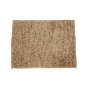 Gözze Badteppich sand, Wellen-Design, 50 x 70 cm