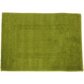 Gözze Badteppich grün, Rahmen-Design, 50 x 70 cm