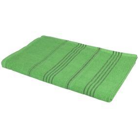 Strandlaken grün gestreift, 90 x 180 cm