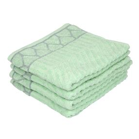 OPTISPLASH Handtuch, mint, 50 x 100 cm, 4er Set