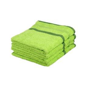 OPTISPLASH Handtuch, grün, 50 x 100 cm, 4er-Set