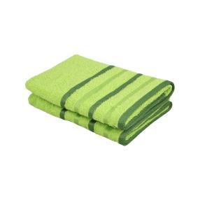 OPTISPLASH Duschtuch, grün, 70 x 140 cm, 2er-Set