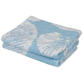 Premium Duschtuch blau, 70 x 140 cm, 2er-Set