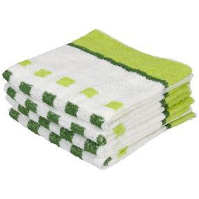 Premium Handtuch grün, 50 x 100 cm, 4er-Set