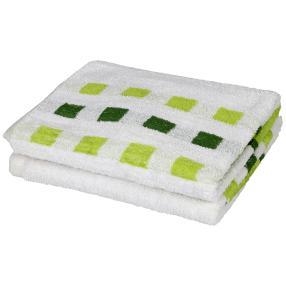 Premium Duschtuch grün, 70 x 140 cm, 2er-Set