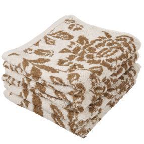 Premium Handtuch beige, 50 x 100 cm, 4er-Set