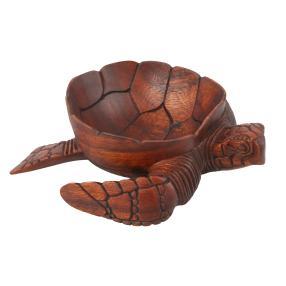 Darimana Suarholzschale Schildkröte, ca. 25 cm