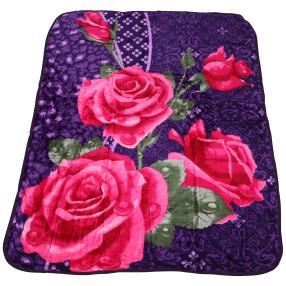 WinterDreams Kuscheldecke lila-pink, 150 x 200 cm